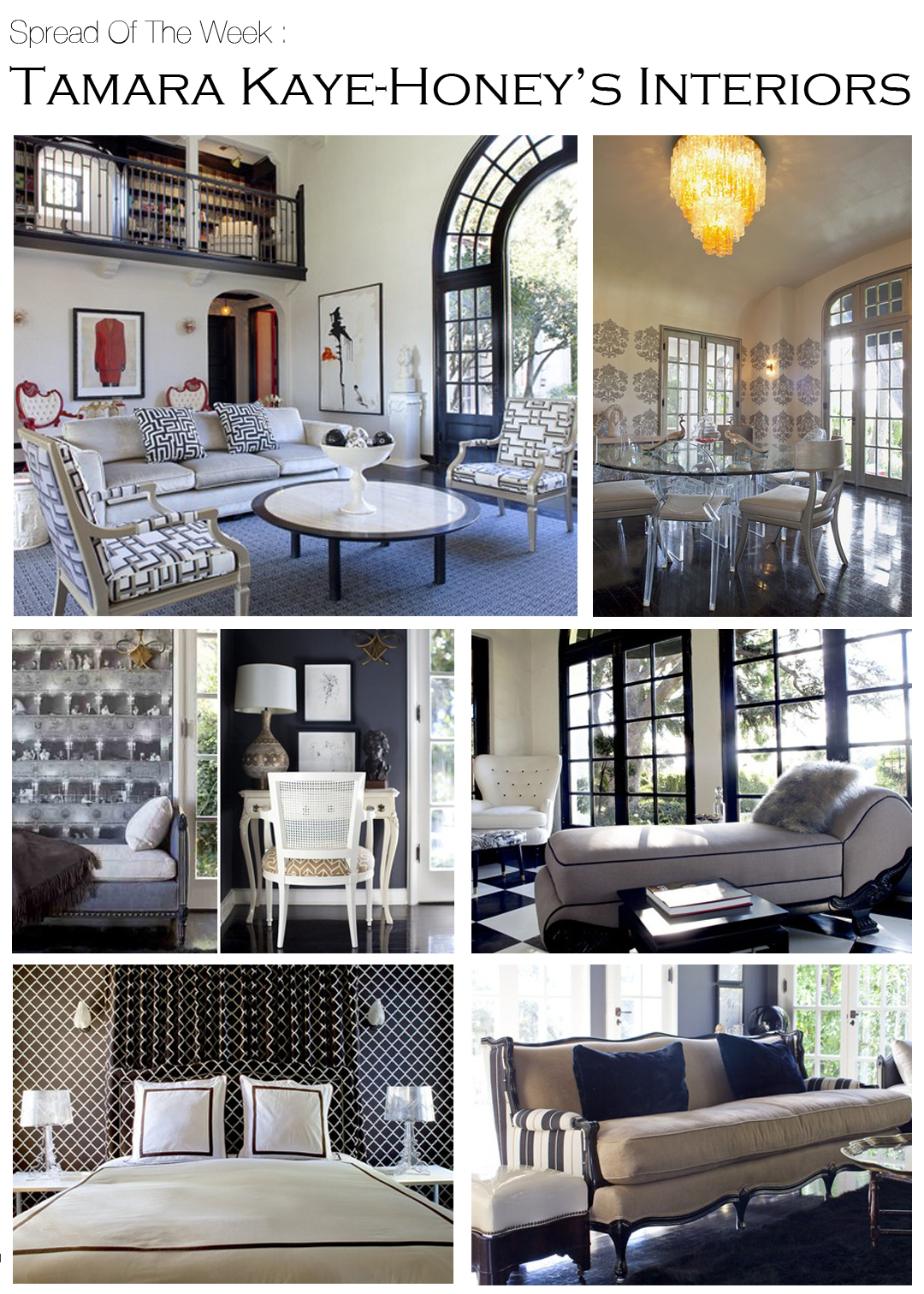 Spread Of The Week Tamara Kaye Honey S Interiors