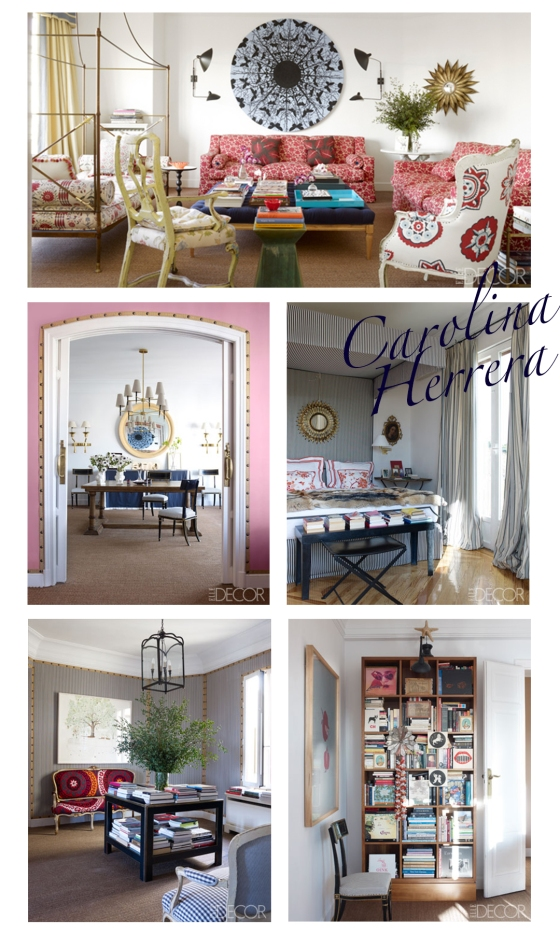 Carolina Home Decor Spread Of The Week Carolina Herrera Baez Mountain Home