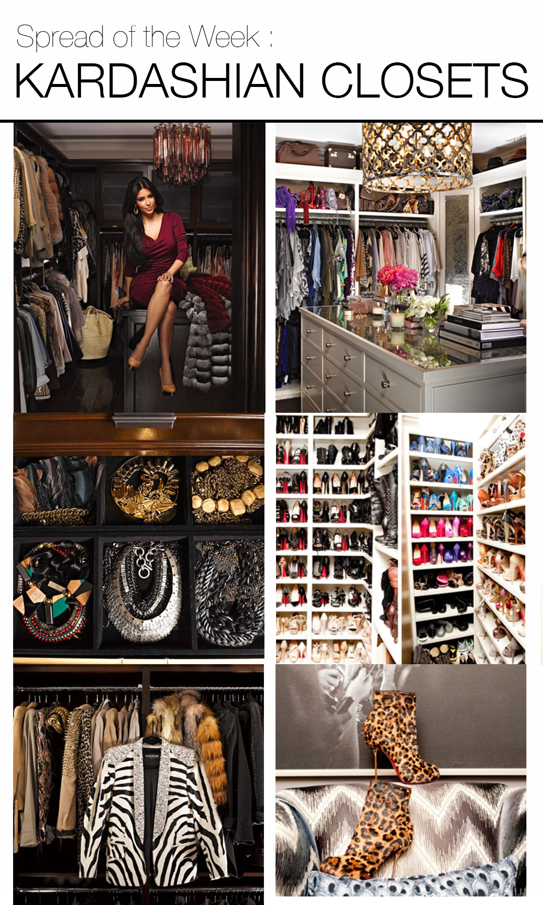 celebrity closet | Mountain Home Decor