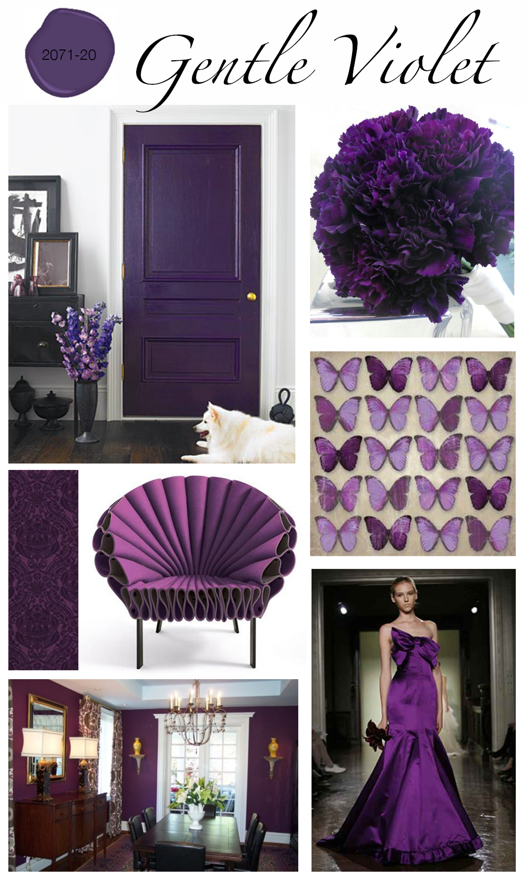 violet home decor endearing violet purple | color trend | home
