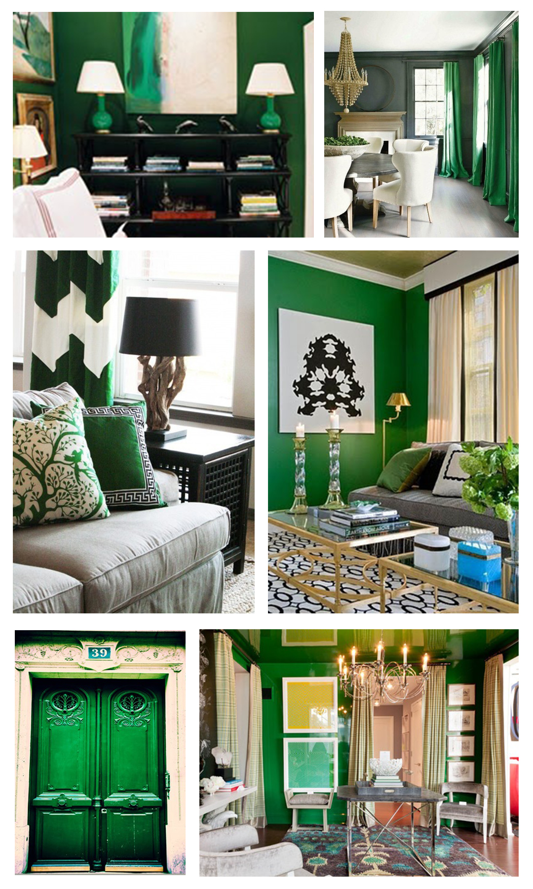 Emerald green mountain home decor for W home decor