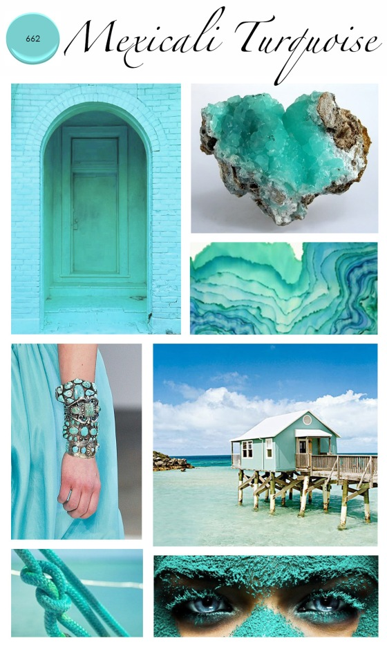 Colour of the month mexicali turquoise mountain home decor - Turquoise decorations for home ...