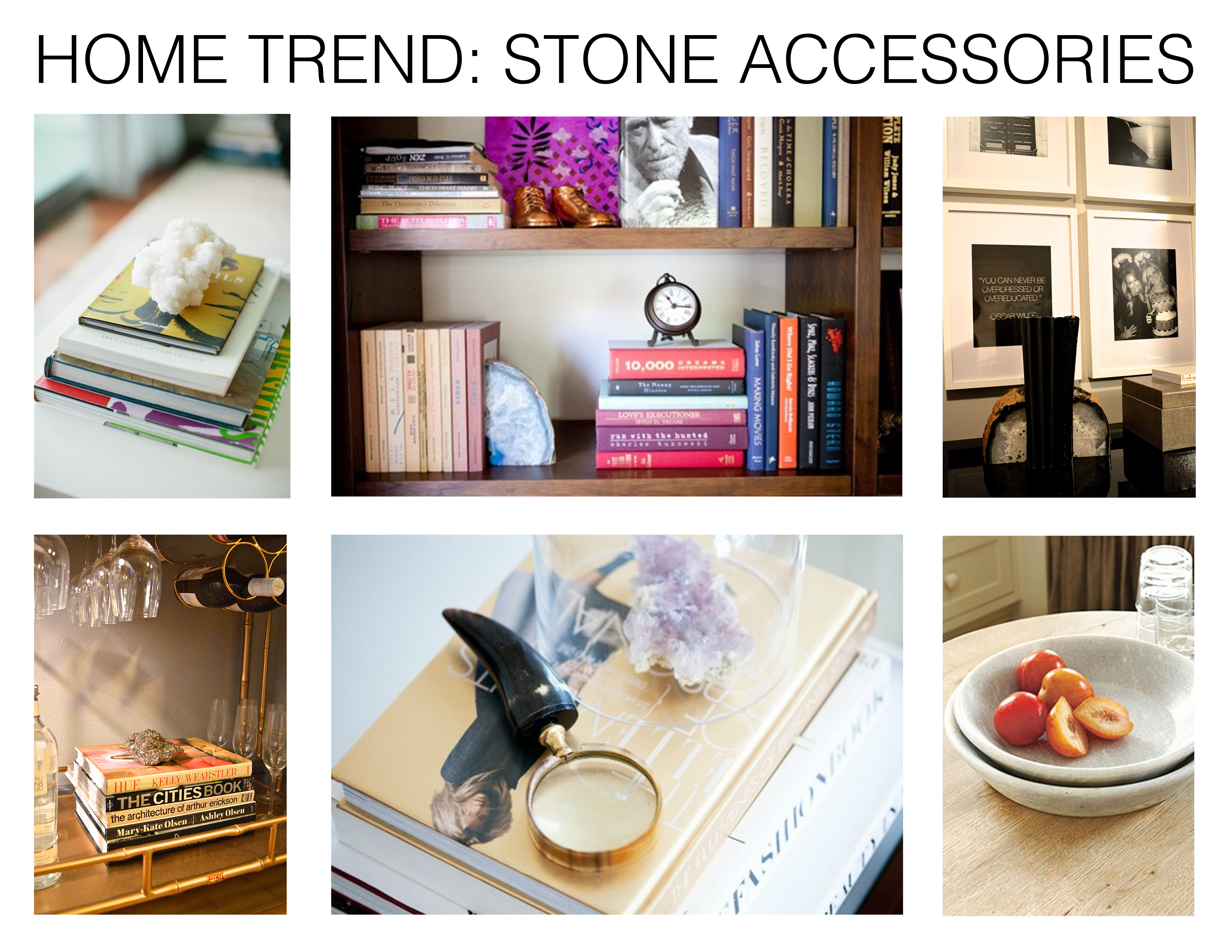Mhd Hometrend Stone Accessories Inspiration
