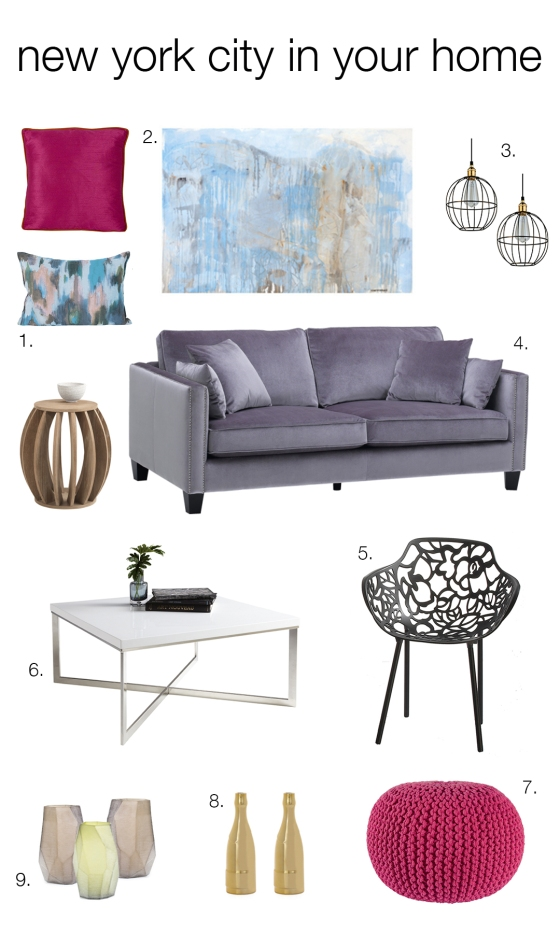 Inspired by new york city mountain home decor for New york city decor