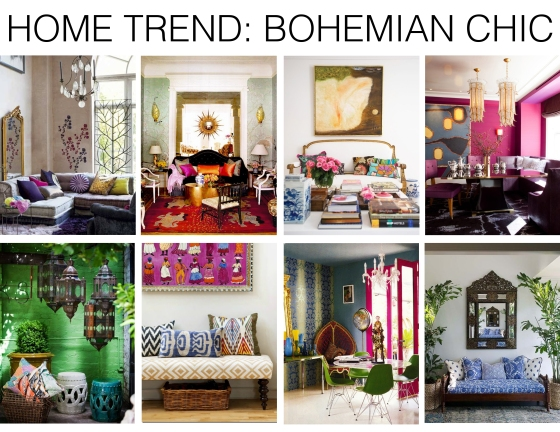 Home trend bohemian chic mountain home decor for Mountain home design trends
