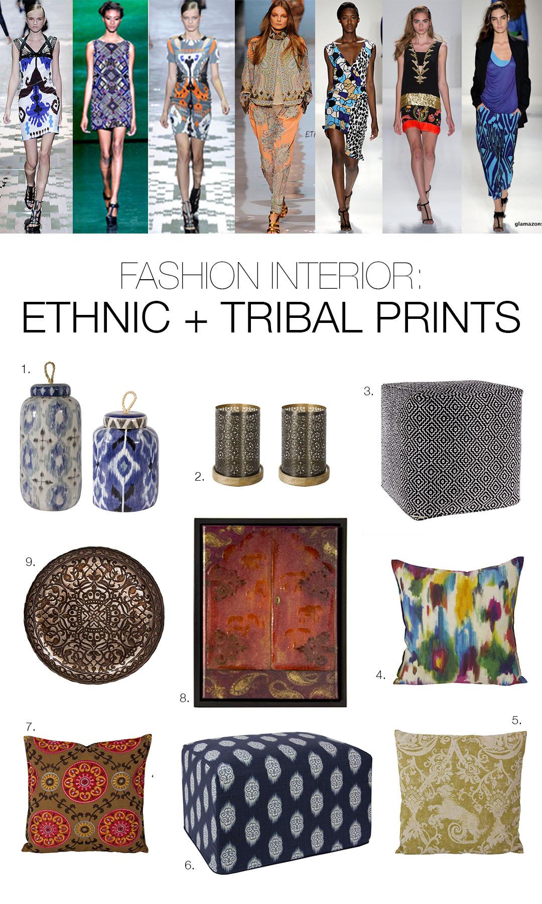 Mhd Fashion Interior Ethnic Prints Fashion And Home Decor