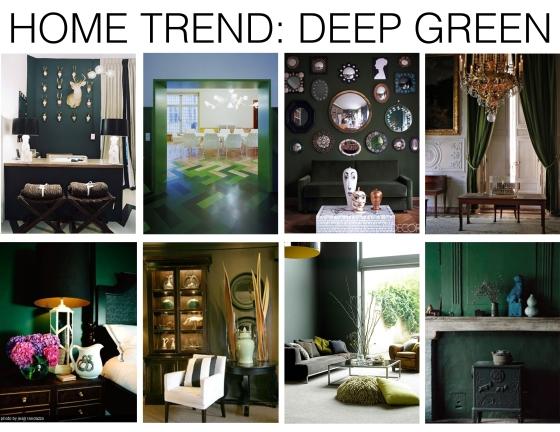 Home trend deep green mountain home decor for Mountain home design trends