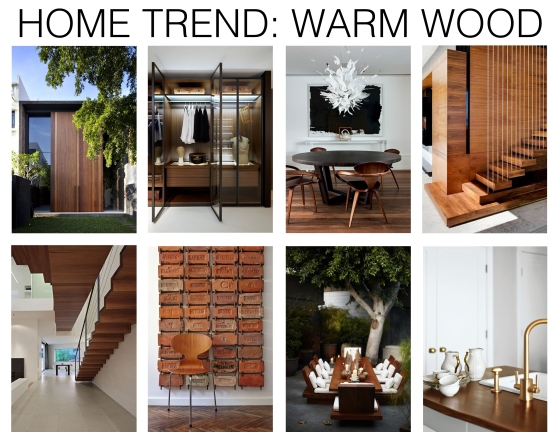 Home trend warm wood mountain home decor for Mountain home design trends