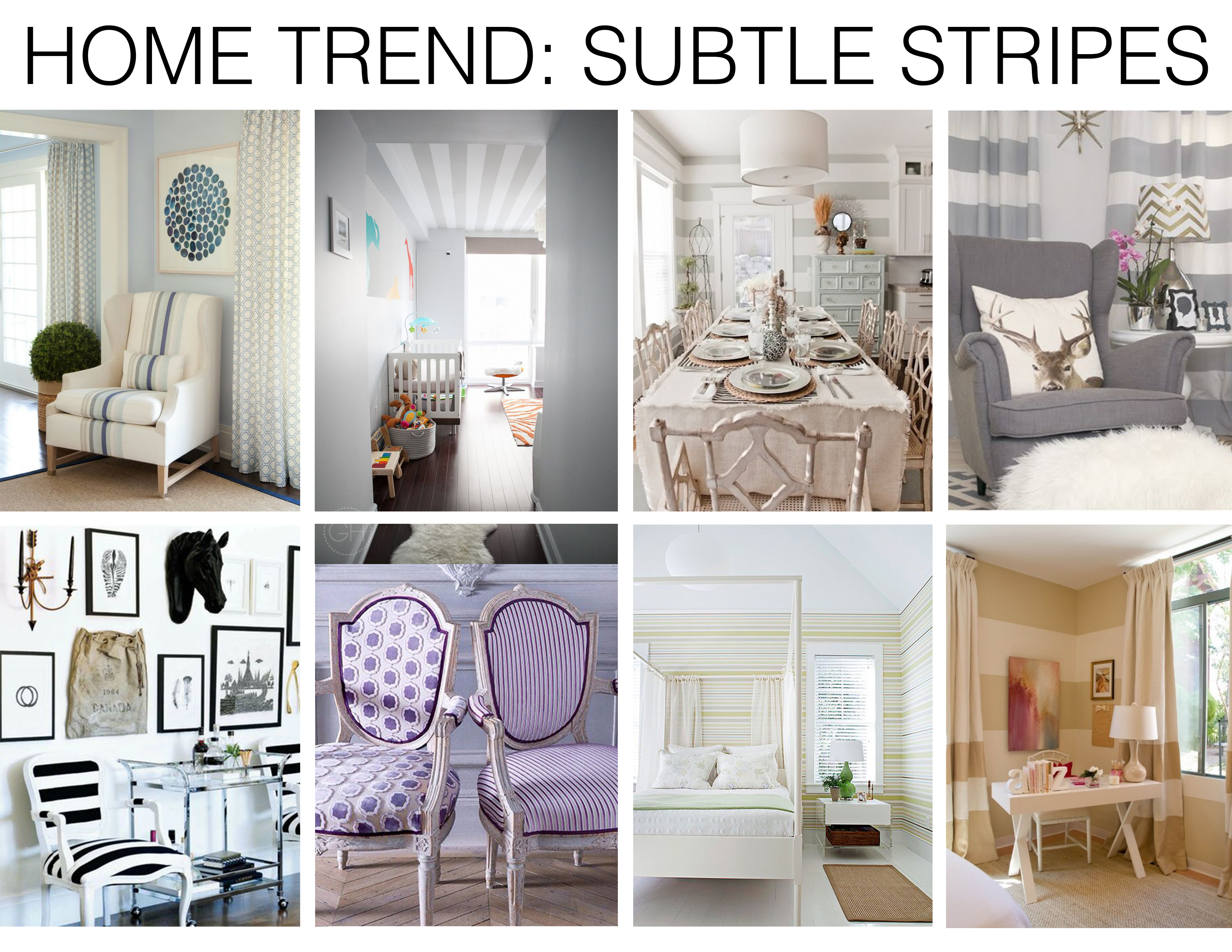 Home trend subtle stripes mountain home decor for Mountain home design trends