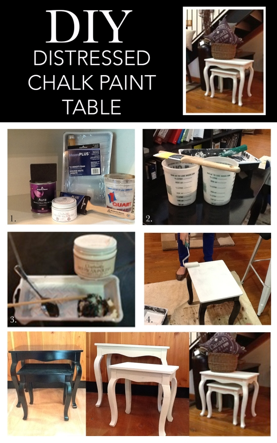 DIY_chalk paint table