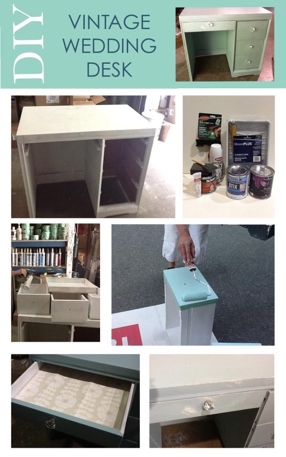 DIY_wedding desk