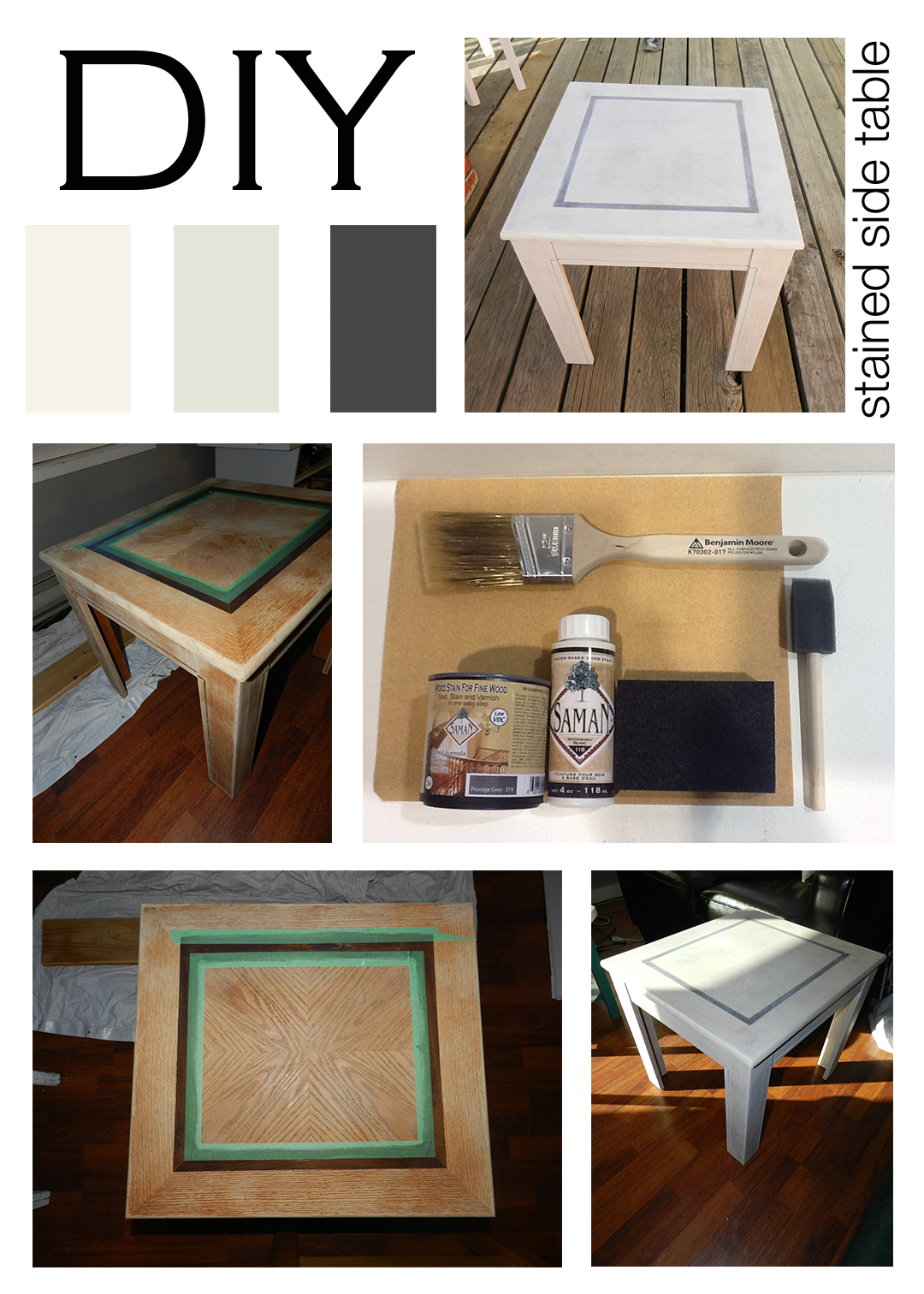 How To Stain A Table Mountain Home Decor. Full resolution  image, nominally Width 1080 Height 1512 pixels, image with #946637.