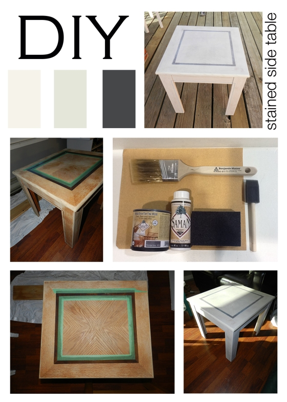 DIY_stained table