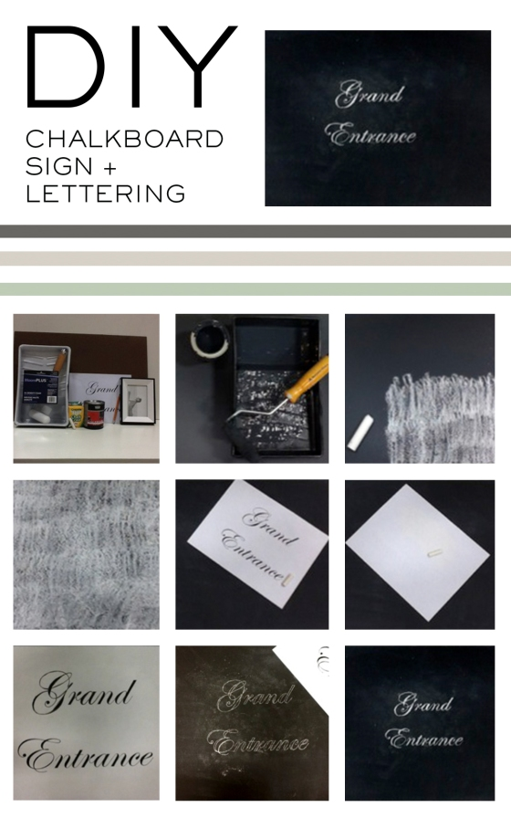 DIY_chalk lettering